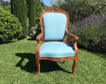 Chair wood provencal style