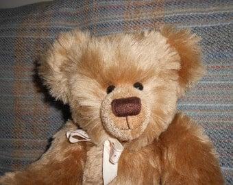 """Collectors' Mohair Teddy Bear - OOAK - 17"""""""