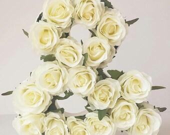 Wooden Floral Ampersand