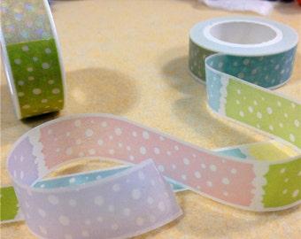Washi Tape, Masking Tape, tape adhesive dots scrapbooking