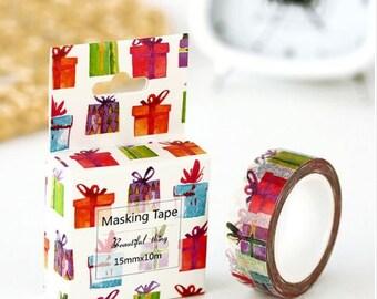 Washi Tape, Masking Tape, tape adhesive scrapbooking gifts
