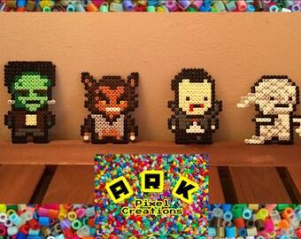 Halloween Hama Pixel Classic Horror Characters