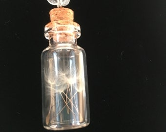 Dandelion Dreams Pendant - for making wishes
