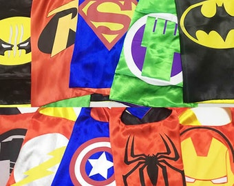 Kids capes bulk, Childrens capes, Child Cape for kid, Cape for boys, kids birthday cape, Birthday party cape, Kids party favors