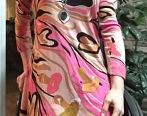 Vintage 60's Mod Emilio Pucci Mini Dress