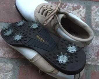 Womens Saddle Style Golf Shoes 7.5