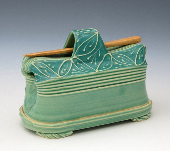 Creative with Clay Butter Dish