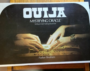 Ouija Board Game by William Fund Parker Brothers 1972
