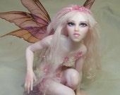 custom ooak pure sculpted fairy or mermaid art doll by Kate Sjoberg sculpted for you.