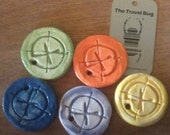 Geocache Clay Coins for Travel Bugs