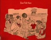 Weezie Goes to School - Sue Felt Kerr - 1969 - Vintage Kids Book