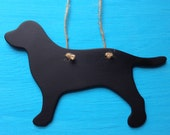 Chalkboard Dog - Mini Wood Chalkboard Sign