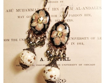 Vintage Flora Earrings