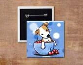 KiniArt YOUR CHOICE Animal Pinback Button Pin