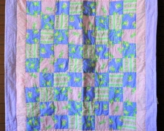 Happy Hopping Frog Quilt  #203