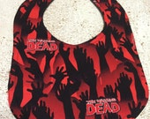 Walking Dead Zombie Infant Baby Bib
