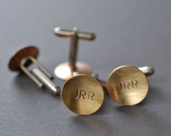 Monogram Cufflinks- personalized with initials or words