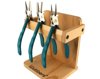 Wubbers ProLine Pliers, set of 3, FREE wooden stand
