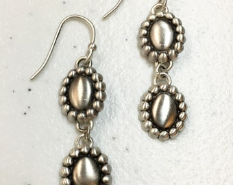 Tiny Concho Earrings