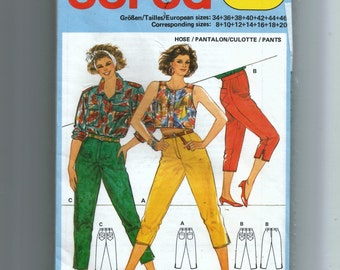 burda Misses' Pants Pattern 6225