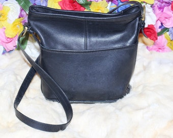 Authentic Vintage Coach Leather Crossbody Bag