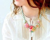 The Vintage Rose Statement Necklace