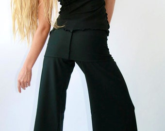 WIDE LEG PANTS yoga pants| best selling yoga pants| black pants| handmade| stretchy pants| women fashion| long pants| women's pants| custom