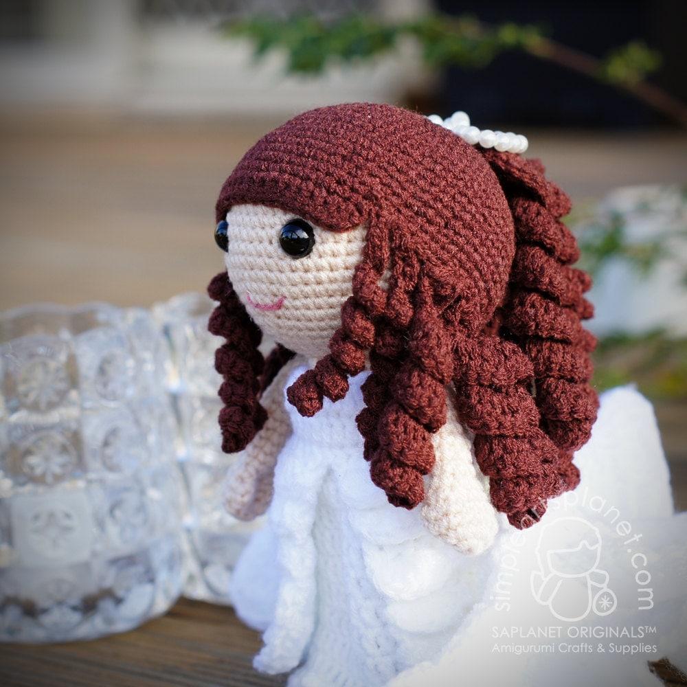 Bride Celia Amigurumi Wedding Pattern