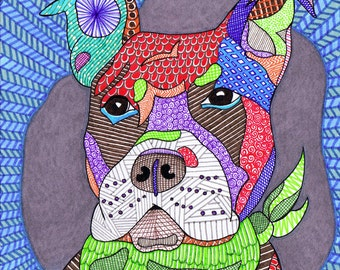 Dogs 1 Original Drawing