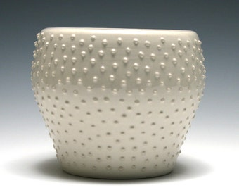 Small White Dotted Bowl