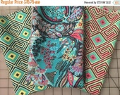 SALE Amy Butler Glow cotton fabric collection green orange blue fat quarter bundle from shereesalchemy