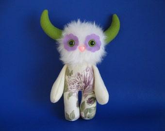 Chelsea Garden Flower Monster Kids Toys Stuffed Animal Doll Plush Toy Gift for Niece Purple Rose