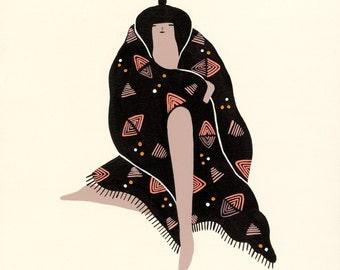 Art Print - Finding Comfort