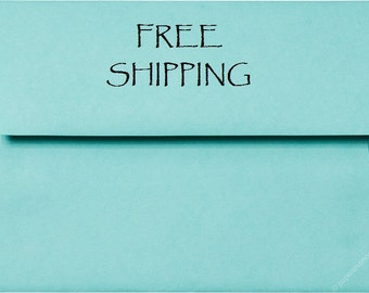 20 Easter Pastels - A7 Envelopes - FREE Domestic SHIPPING