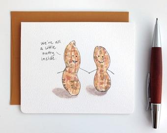 Talking Peanuts Card