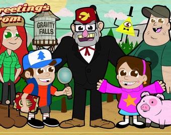 The Pine family crew!