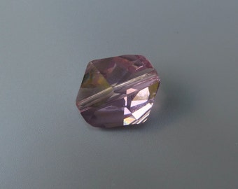 Swarovski Crystal Beads, Swarovski Cosmic Beads, Swarovski Elements 5523, Swarovski 5523 16MM Cosmic, Swarovski Light Amethyst Bead, DESTASH