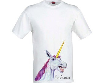 I'm Awesome Unicorn Tshirt