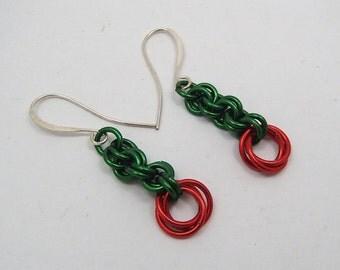 Mobius Rose Earrings