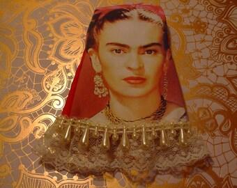 VERY LIMITED Blythe Doll Dress - Frida Khalo