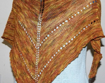Earth Tones Summerthing Shawlette