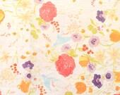 Nani Iro Kokka Japanese Fabric Fuccra : rakuen - Pipi - 50cm