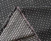 Japanese Fabric - yarn dyed dobby checkerboard - 50cm