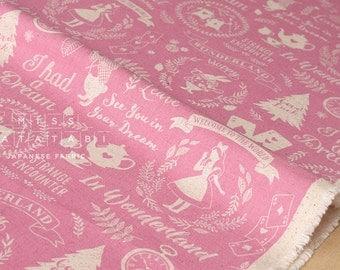 Japanese Fabric Kokka Wonderland - pink - fat quarter