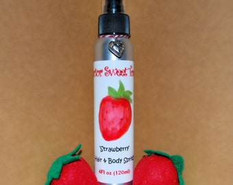 Strawberry Body Splash and Hair Perfume 4oz