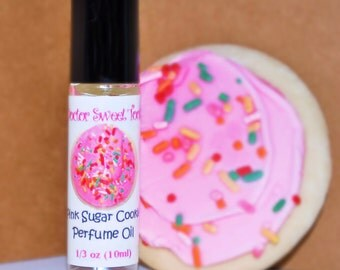 Pink Sugar Cookie Perfume Oil Roll-On