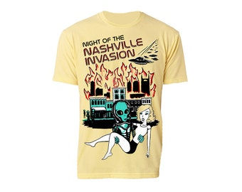 MISPRINT SALE - Night of the Nashville Invasion - Monsters of Nashville Series