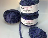 Blue/Purple and Green Ribbon Yarn - Aquarius by Trendsetter Yarns