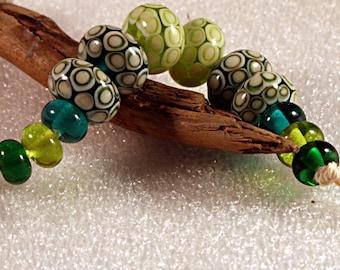 Lampwork  Art Beads by Jeanniesbeads 468
