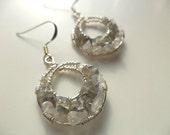 Moonstone Goddess Earrings